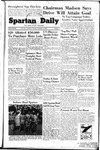 Spartan Daily, November 3, 1949 by San Jose State University, School of Journalism and Mass Communications