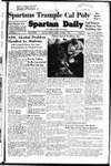 Spartan Daily, November 7, 1949 by San Jose State University, School of Journalism and Mass Communications