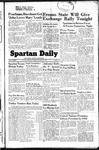 Spartan Daily, November 22, 1949 by San Jose State University, School of Journalism and Mass Communications