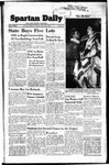 Spartan Daily, January 26, 1950 by San Jose State University, School of Journalism and Mass Communications