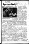 Spartan Daily, March 13, 1950 by San Jose State University, School of Journalism and Mass Communications