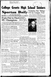 Spartan Daily, April 25, 1950 by San Jose State University, School of Journalism and Mass Communications