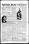 Spartan Daily, May 3, 1950 by San Jose State University, School of Journalism and Mass Communications