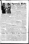 Spartan Daily, June 1, 1950 by San Jose State University, School of Journalism and Mass Communications