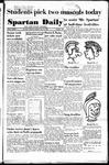 Spartan Daily, June 12, 1950 by San Jose State University, School of Journalism and Mass Communications