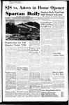 Spartan Daily, September 29, 1950 by San Jose State University, School of Journalism and Mass Communications