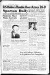 Spartan Daily, October 2, 1950 by San Jose State University, School of Journalism and Mass Communications