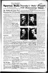 Spartan Daily, October 25, 1950