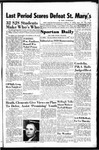 Spartan Daily, November 13, 1950 by San Jose State University, School of Journalism and Mass Communications