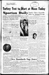 Spartan Daily, November 21, 1950 by San Jose State University, School of Journalism and Mass Communications