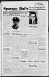 Spartan Daily, January 8, 1951 by San Jose State University, School of Journalism and Mass Communications