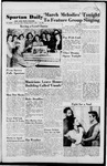 Spartan Daily, March 1, 1951 by San Jose State University, School of Journalism and Mass Communications