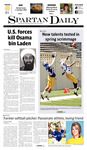 Spartan Daily May 2, 2011