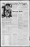 Spartan Daily, June 11, 1951 by San Jose State University, School of Journalism and Mass Communications