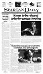 Spartan Daily May 12, 2011