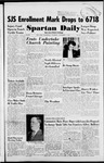 Spartan Daily, November 1, 1951 by San Jose State University, School of Journalism and Mass Communications