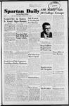 Spartan Daily, November 29, 1951