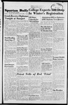Spartan Daily, December 19, 1951 by San Jose State University, School of Journalism and Mass Communications
