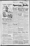 Spartan Daily, February 12, 1952 by San Jose State University, School of Journalism and Mass Communications