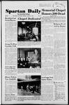 Spartan Daily, March 31, 1952 by San Jose State University, School of Journalism and Mass Communications