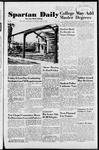 Spartan Daily, April 10, 1952 by San Jose State University, School of Journalism and Mass Communications