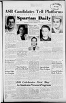 Spartan Daily, May 14, 1952 by San Jose State University, School of Journalism and Mass Communications