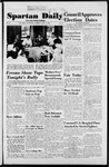 Spartan Daily, October 9, 1952 by San Jose State University, School of Journalism and Mass Communications