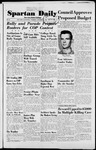 Spartan Daily, October 16, 1952 by San Jose State University, School of Journalism and Mass Communications