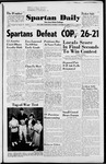 Spartan Daily, October 20, 1952