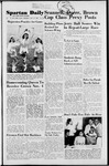 Spartan Daily, October 27, 1952 by San Jose State University, School of Journalism and Mass Communications