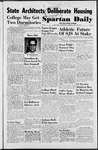 Spartan Daily, October 28, 1952 by San Jose State University, School of Journalism and Mass Communications