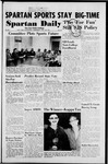 Spartan Daily, October 29, 1952