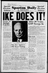 Spartan Daily, November 5, 1952