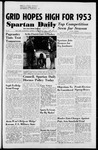 Spartan Daily, November 24, 1952 by San Jose State University, School of Journalism and Mass Communications