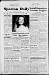Spartan Daily, March 2, 1953 by San Jose State University, School of Journalism and Mass Communications