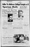 Spartan Daily, April 7, 1953