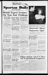 Spartan Daily, April 23, 1953 by San Jose State University, School of Journalism and Mass Communications