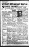 Spartan Daily, September 28, 1953 by San Jose State University, School of Journalism and Mass Communications
