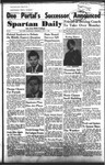 Spartan Daily, October 7, 1953 by San Jose State University, School of Journalism and Mass Communications