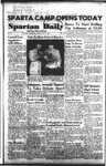 Spartan Daily, October 9, 1953 by San Jose State University, School of Journalism and Mass Communications
