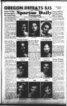 Spartan Daily, October 26, 1953 by San Jose State University, School of Journalism and Mass Communications