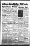 Spartan Daily, October 27, 1953 by San Jose State University, School of Journalism and Mass Communications