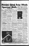 Spartan Daily, October 29, 1953