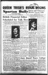 Spartan Daily, November 2, 1953 by San Jose State University, School of Journalism and Mass Communications