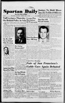 Spartan Daily, January 12, 1954 by San Jose State University, School of Journalism and Mass Communications
