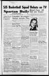 Spartan Daily, January 22, 1954 by San Jose State University, School of Journalism and Mass Communications