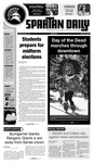 Spartan Daily November 1, 2010 by San Jose State University, School of Journalism and Mass Communications