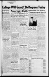 Spartan Daily, March 12, 1954