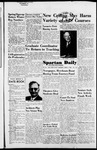 Spartan Daily, April 5, 1954 by San Jose State University, School of Journalism and Mass Communications