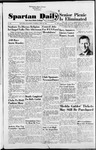 Spartan Daily, April 29, 1954